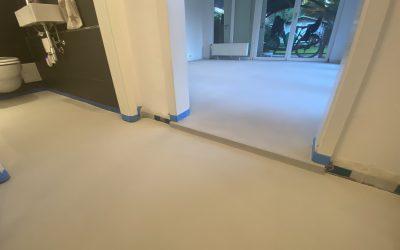 Renovierung mit Frescolori® / Fugenloser Boden