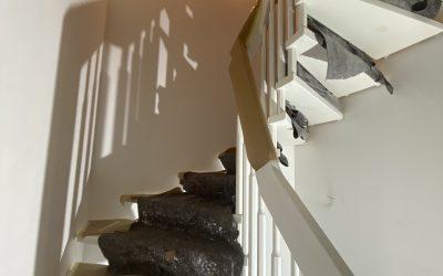 Renovierung Treppenhaus / Wendeltreppe