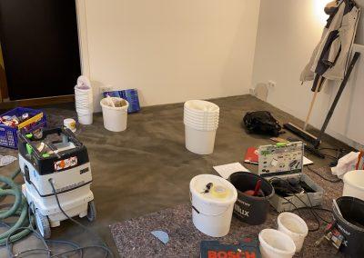 Frescolori Bodenfläche